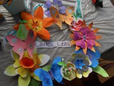 Tasty Treats & Artistic Endeavours at Larks Leas Rest Home